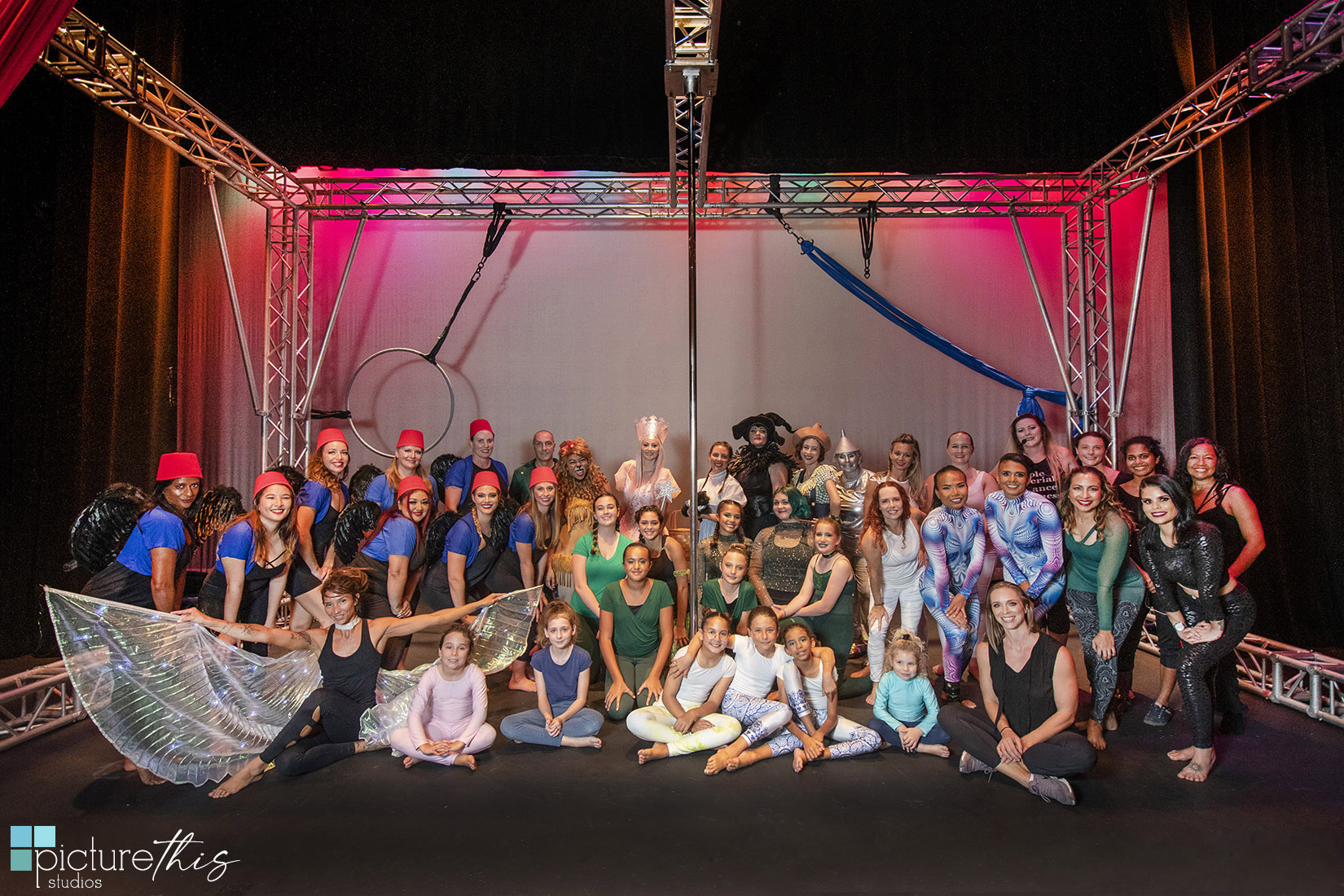 Picture This Studios and Heather Holt Photography captured the Quintessential Movement Performance of the Wizard of Oz at the Grand Cayman Harquail Theatre