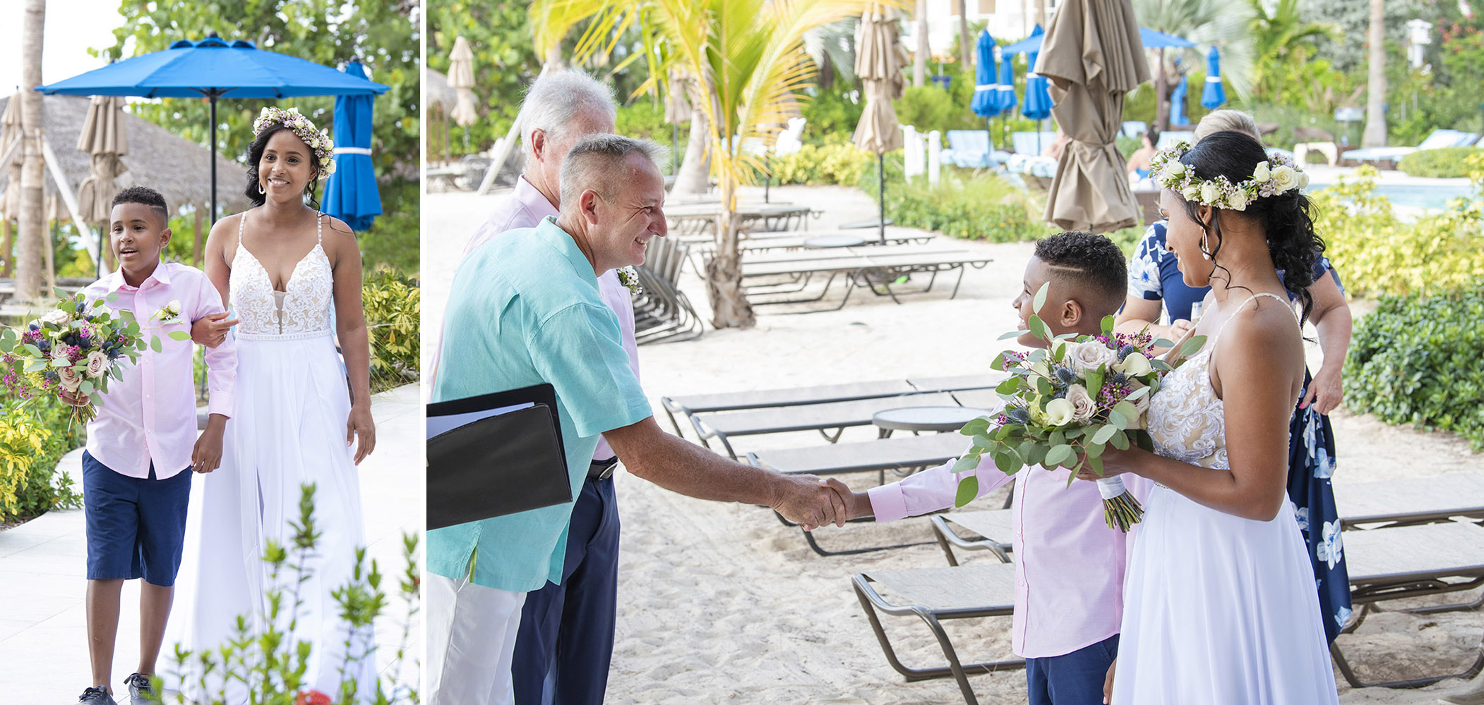 Picture This Studios and Heather Holt Photography captured this beautiful Cayman Islands Wedding held at the Meridian.