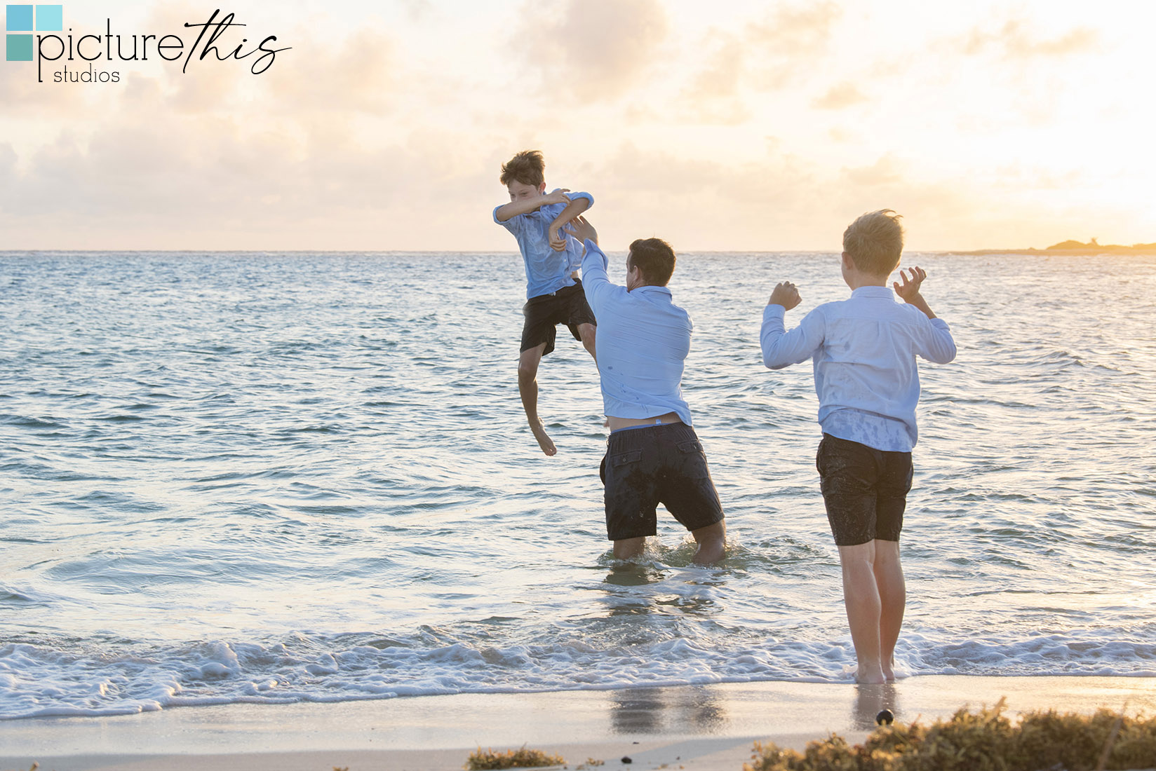 Happy Fathers Day 2021 from all of us Cayman Islands Photographers at Picture This Studios!